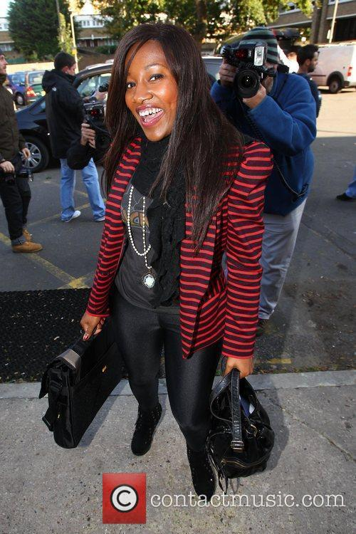 Treyc Cohen The 'X Factor' contestants arrive at...