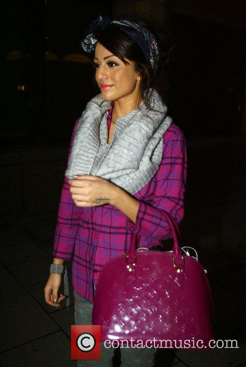 Cher Lloyd X Factor Finalists leaving the rehearsal...