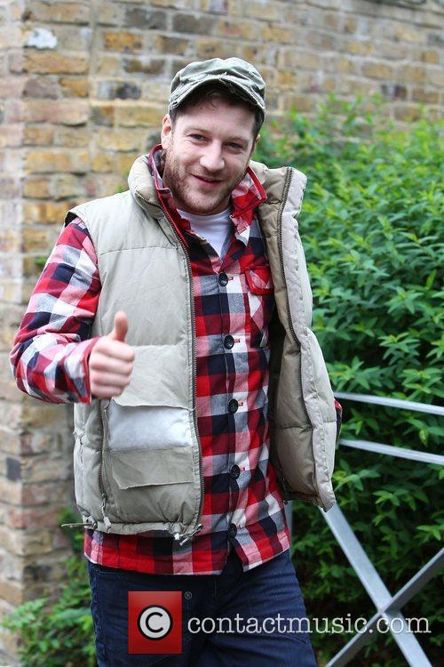 'X Factor' finalist Matt Cardle outside the rehearsal...