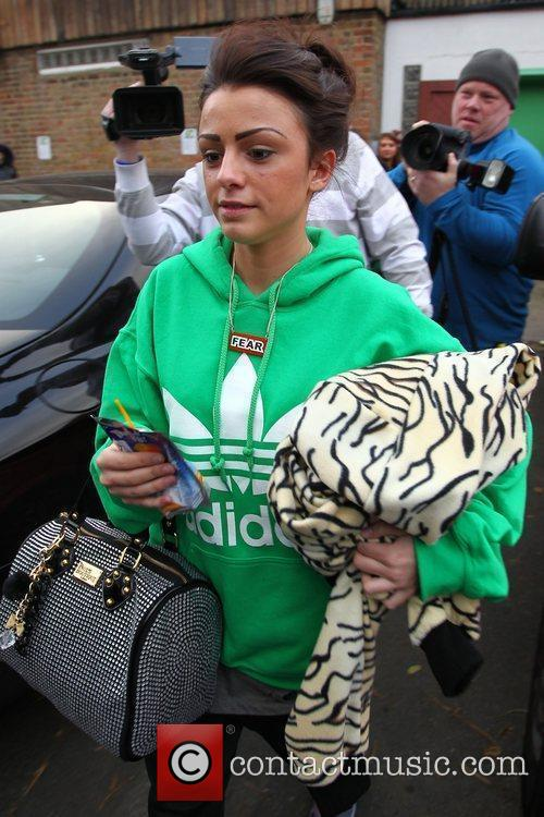 Cher Lloyd 'The X Factor' finalists arrive at...