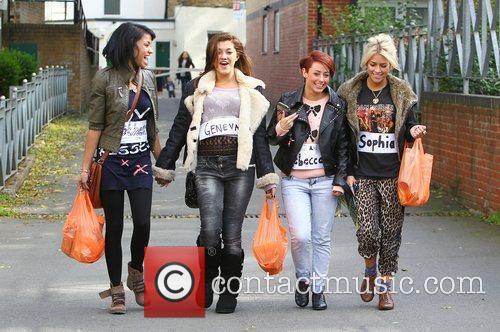 Esther Campbell, Geneva Lane, Rebecca Creighton and Sophia...