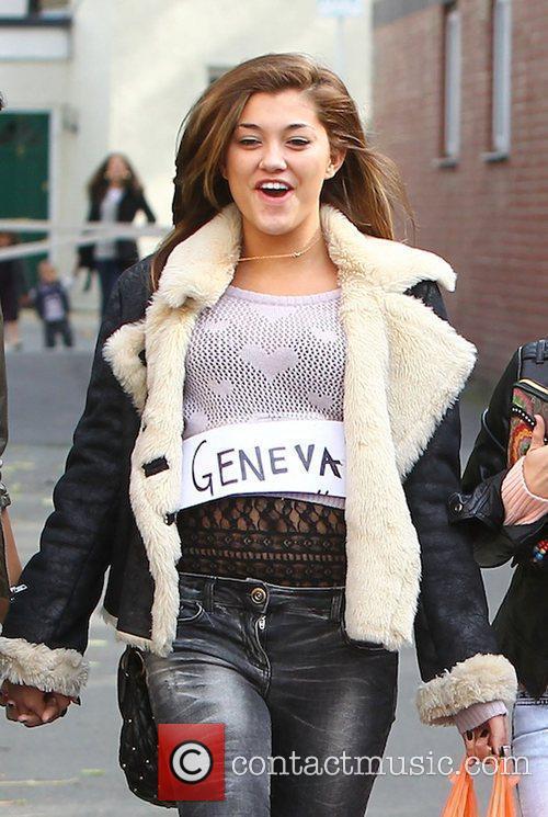 Geneva Lane of 'X Factor' finalists girl group...
