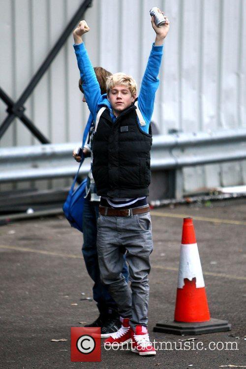 X Factor finalist Niall Horan of boy band...