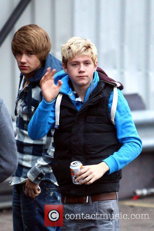 X Factor finalists Liam Payne and Niall Horan...