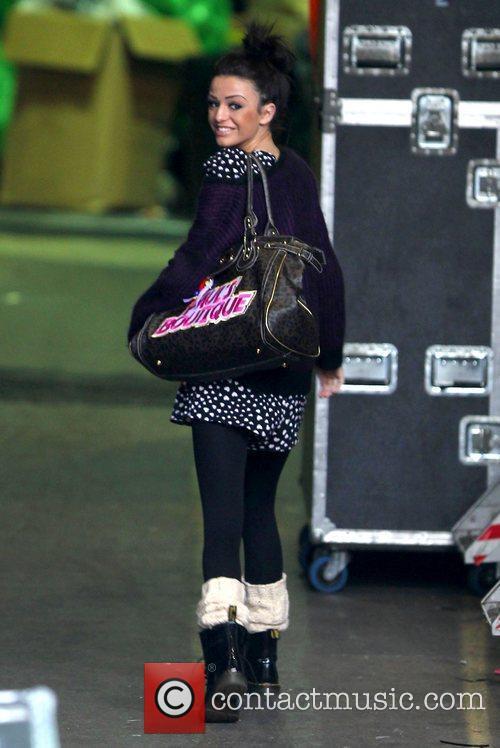 X Factor finalist Cher Lloyd arriving at Fountain...