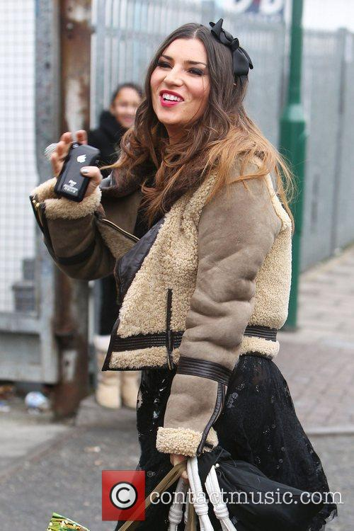 X Factor stylist Grace Woodward arrives at the...