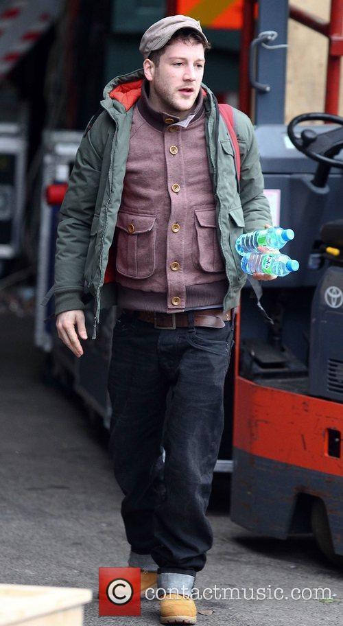 Matt Cardle arrives at The Fountain studios ahead...