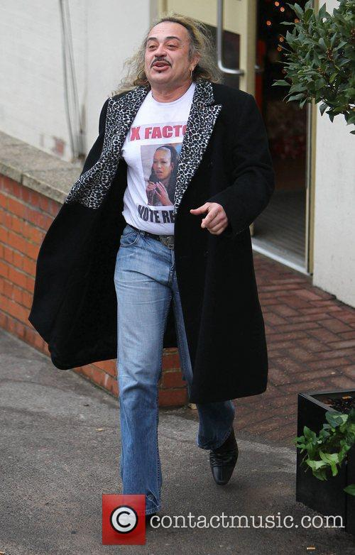 X Factor reject Wagner Carrilho arrives at The...