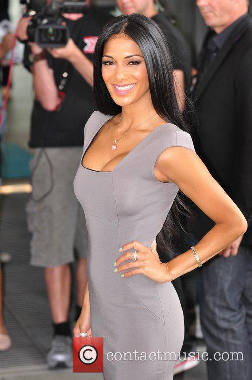 Nicole Scherzinger X Factor Auditions at the Manchester...