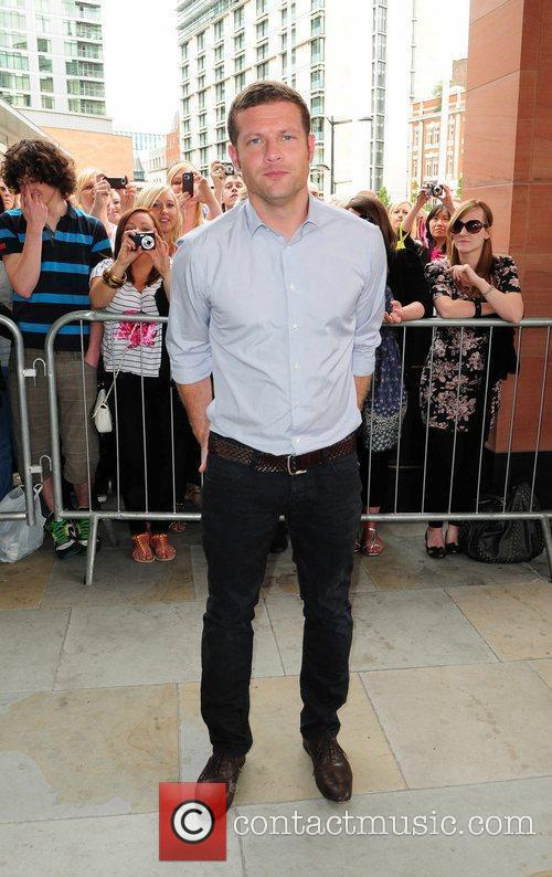 Dermot O'Leary X Factor Auditions at the Manchester...