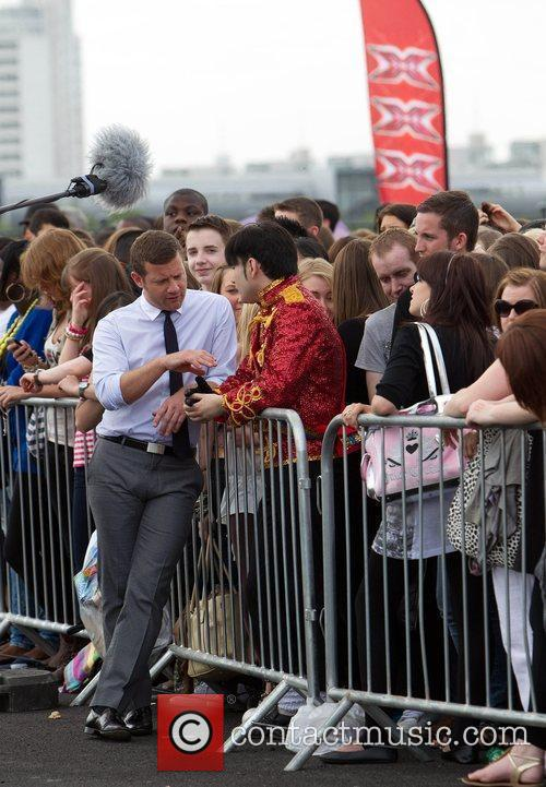 Dermot O'Leary The 'X Factor' auditions at the...
