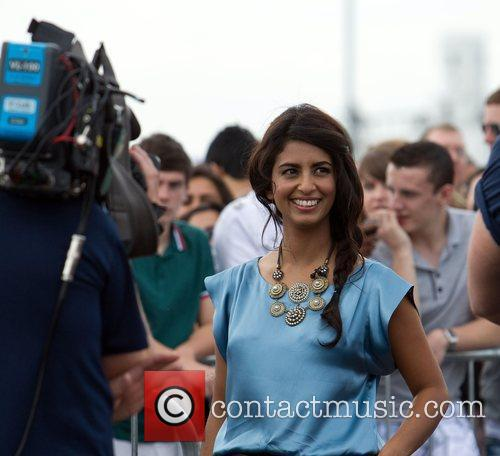 Konnie Huq The 'X Factor' auditions at the...