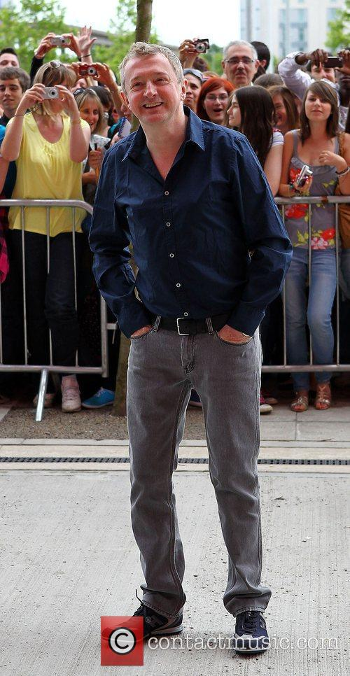 Louis Walsh outside the 'X Factor' auditions at...