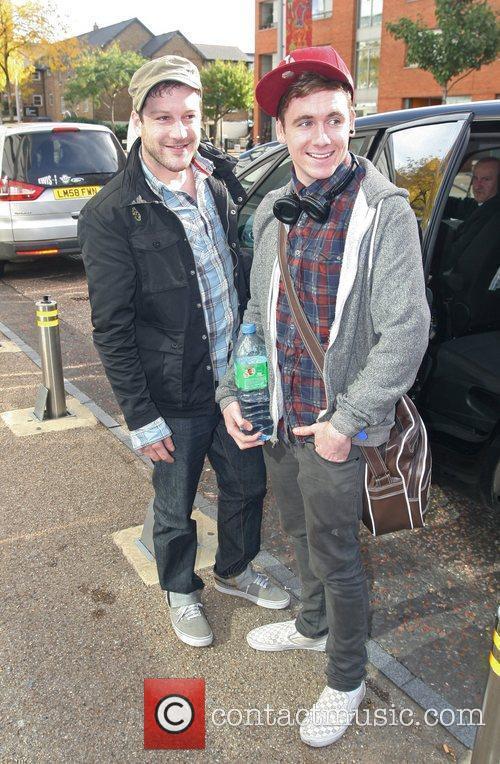 X Factor contestant Matt Cardle at the ITV...