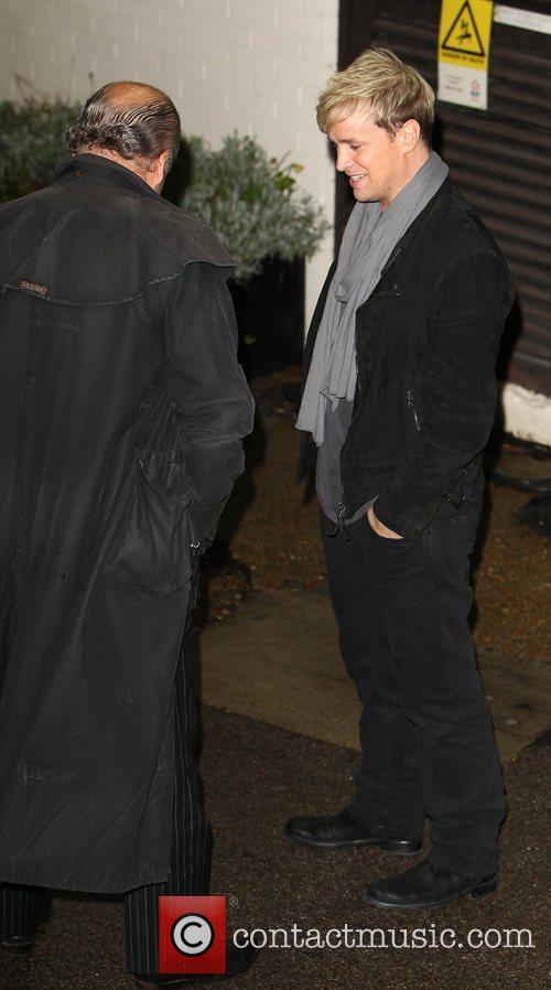 Kian Egan of Westlife   arrives at...