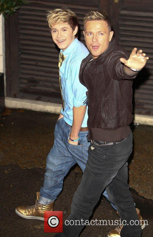 X Factor finalist Niall Horan from boy band...