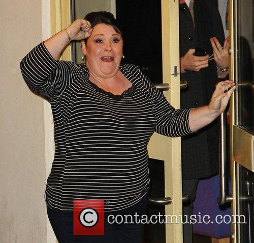 X Factor Finalist Mary Byrne   arrives...