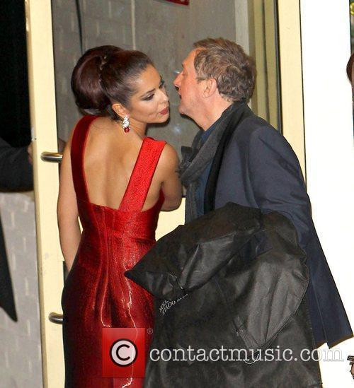 Cheryl Cole and Louis Walsh 1