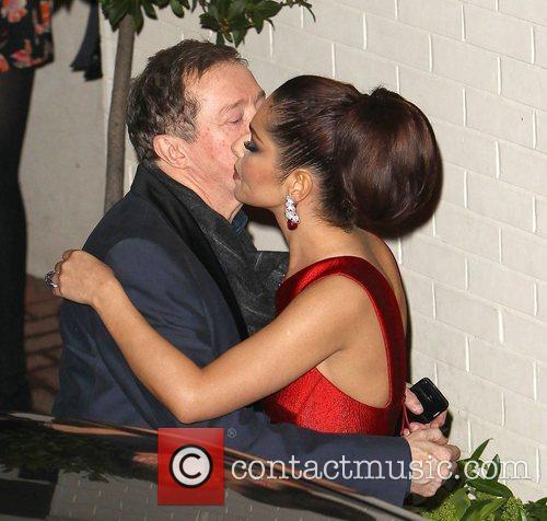 Cheryl Cole and Louis Walsh 6