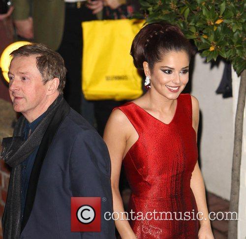 Cheryl Cole and Louis Walsh 5