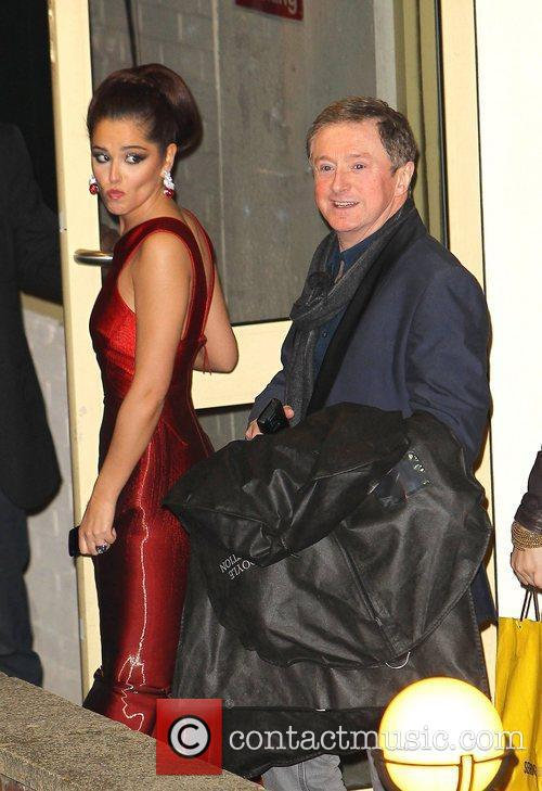 Cheryl Cole and Louis Walsh 4