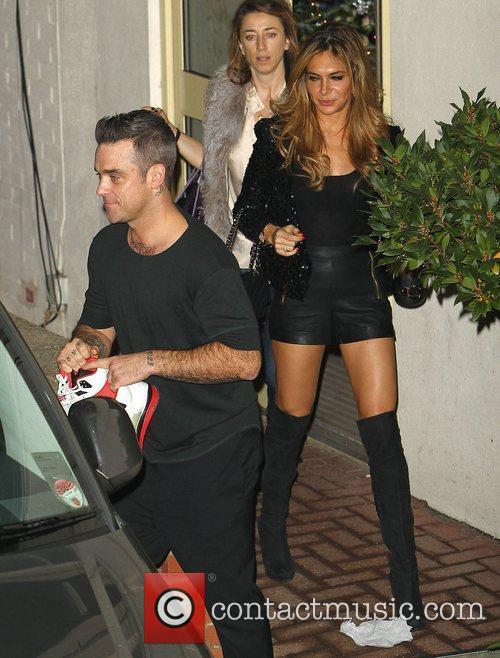 Robbie Williams, Ayda Field and Take That 1