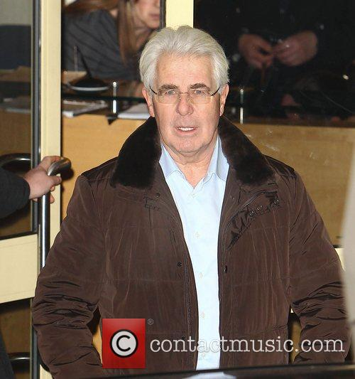 Max Clifford,  leave the studio after 'The...