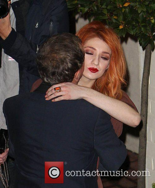 Nicola Roberts,  leave the studio after 'The...