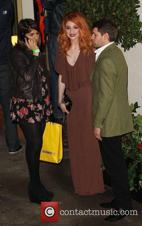 Nicola Roberts and Charlie Fennell,  leave the...