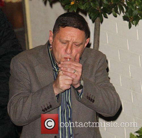 Shaun Ryder,  leave the studio after 'The...