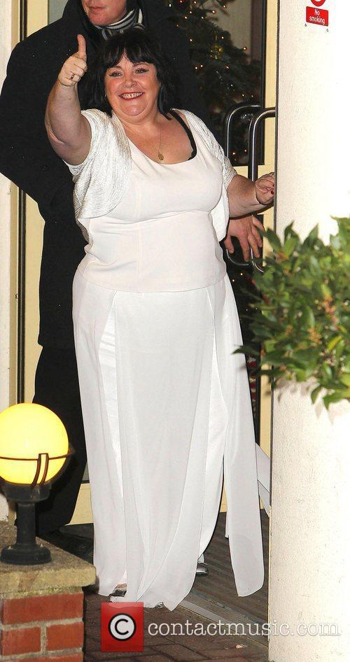 Mary Byrne,  leaves the studio after 'The...