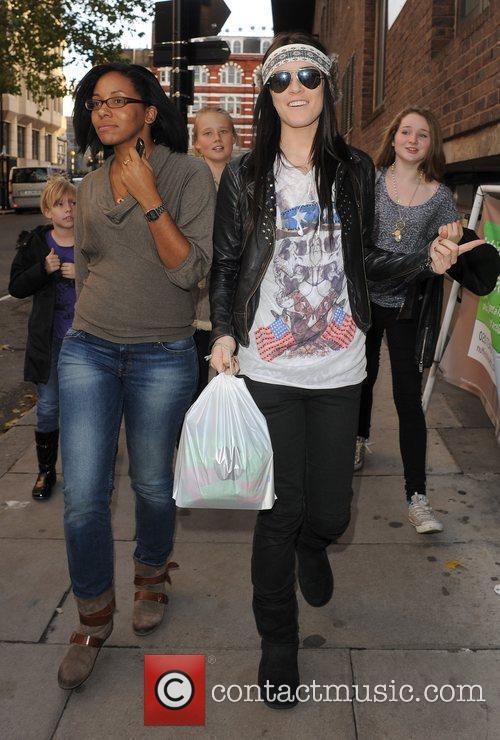 Last years X Factor finalist Lucie Jones leaving...