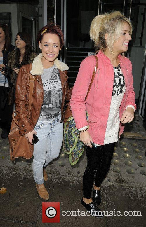 X Factor Finalists out and about after leaving...