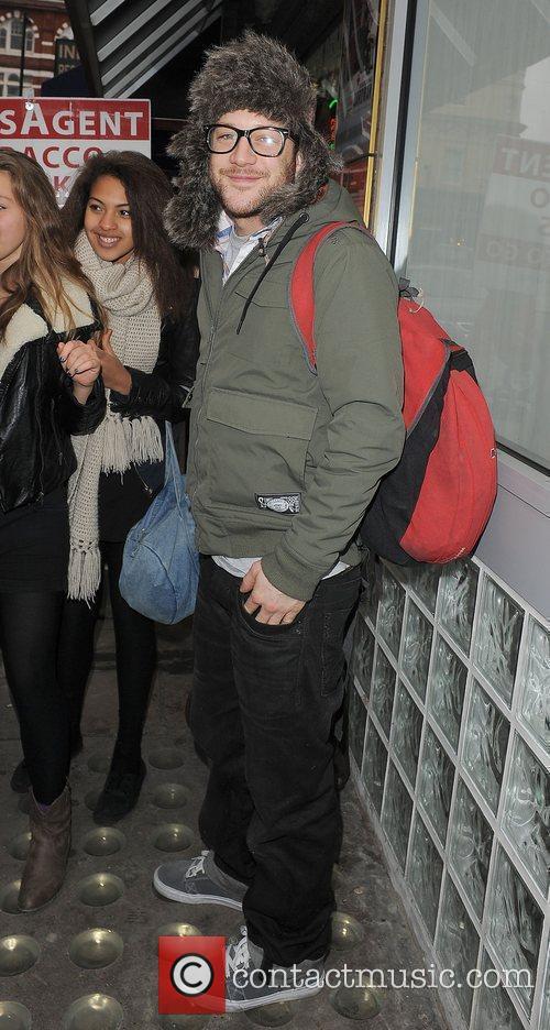 X Factor finalist Matt Cardle arriving at the...