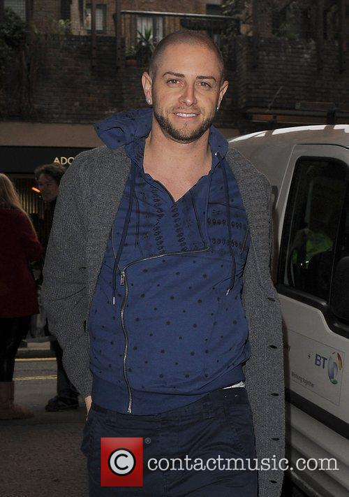 X Factor coach Brian Friedman arriving at the...