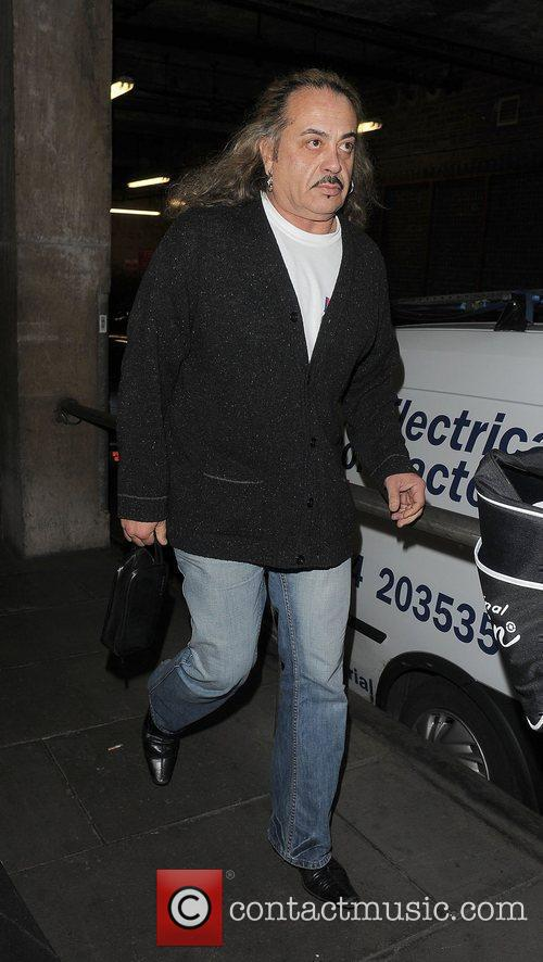 X Factor finalist Wagner arriving at the gym....