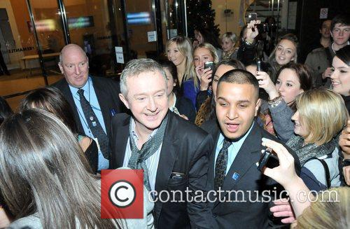 X Factor Judges - Louis Walsh arriving at...