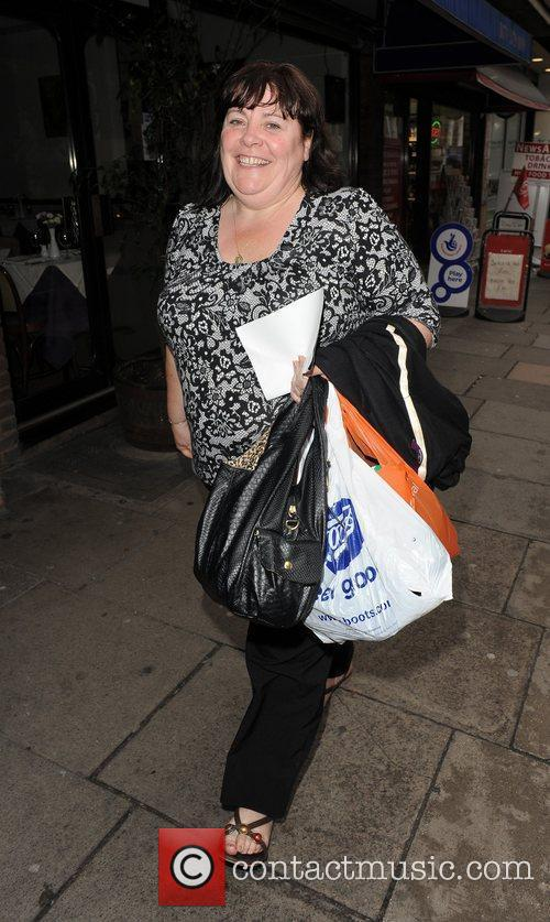 X Factor contestant Mary Bryne arriving at a...