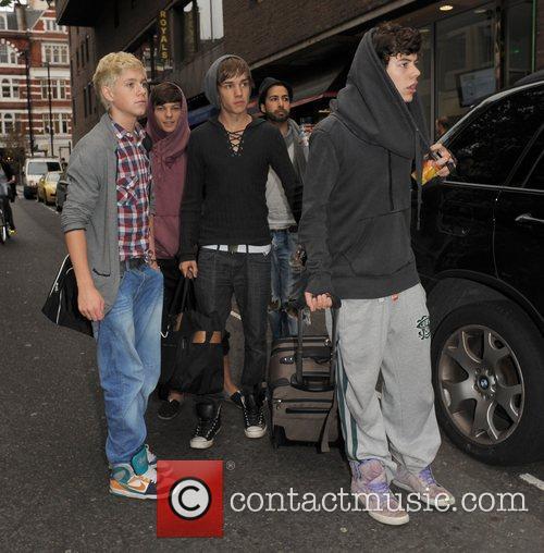 X Factor contestants Niall Horan, Louis Tomlinson, Liam...