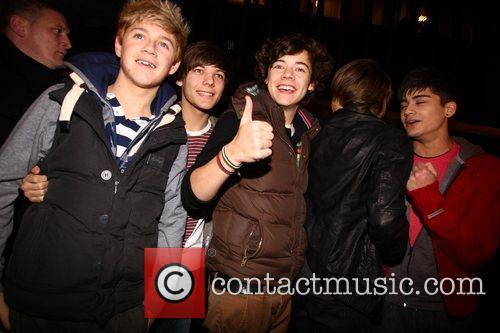 Niall Horan, Louis Tomlinson, Harry Styles, Liam Payne...