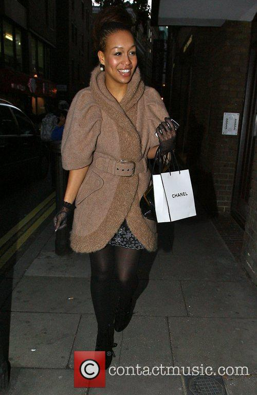 X Factor finalist Rebecca Ferguson out and about...