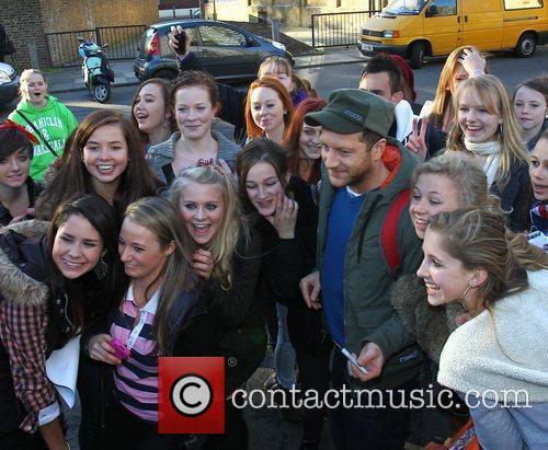 Matt Cardle 'X Factor Finalists' arriving at a...