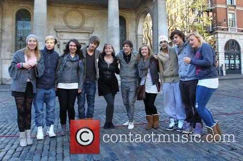 X Factor finalists Louis Tomlinson, Niall Horan, Liam...