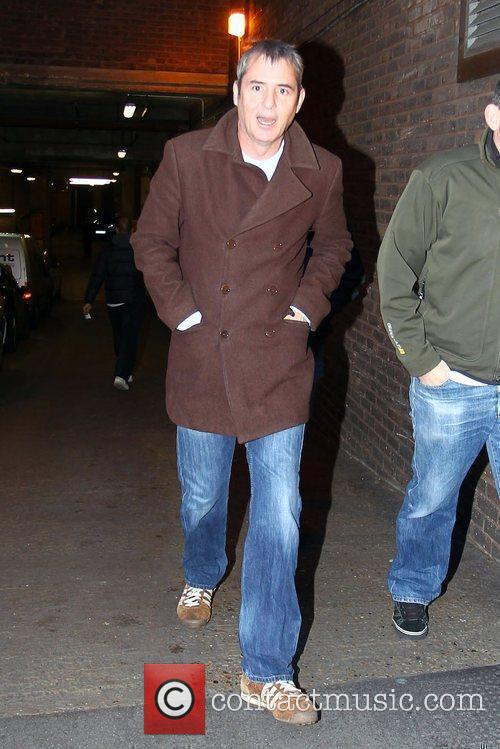 Neil Morrissey outside the X Factor rehearsals...