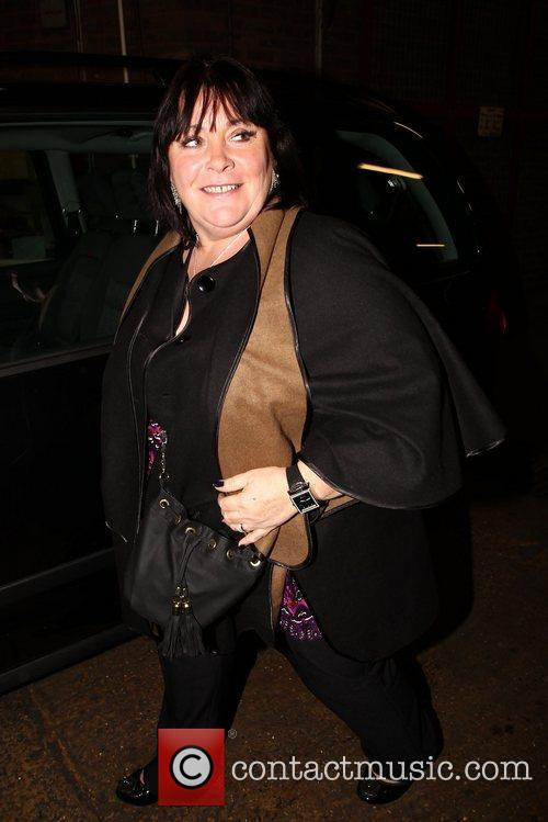 X Factor finalist Mary Byrne out and about...