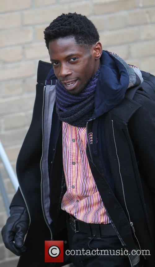 John Adeleye X Factor rejects arrive at the...