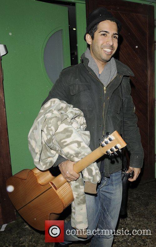 X Factor vocal coach Savan Kotecha leaving recording...