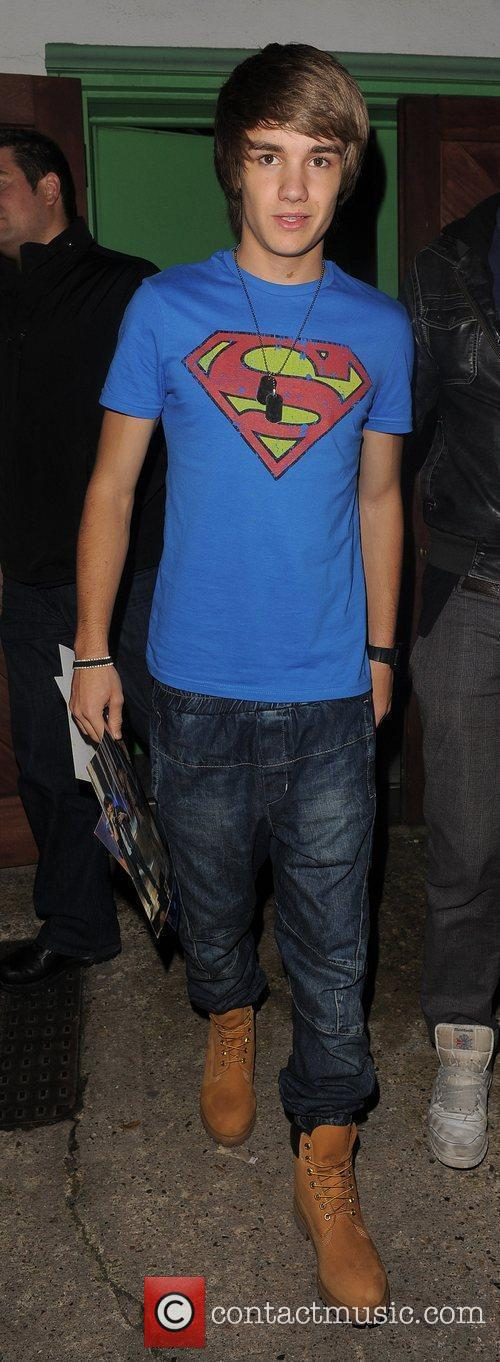 X Factor finalist Liam Payne from boy band...