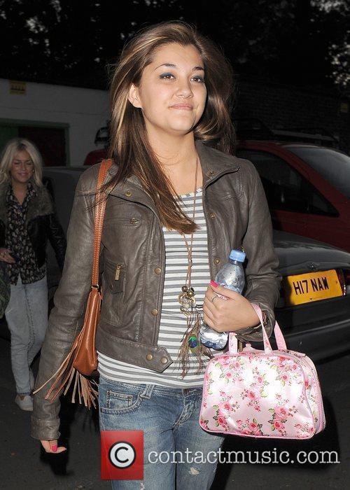 X Factor contestant Geneva Lane of girl group...