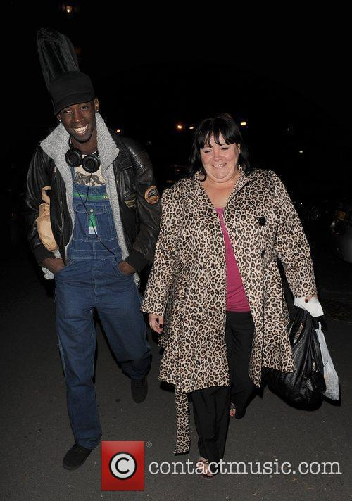 X Factor contestants John Adeleye and Mary Bryne...